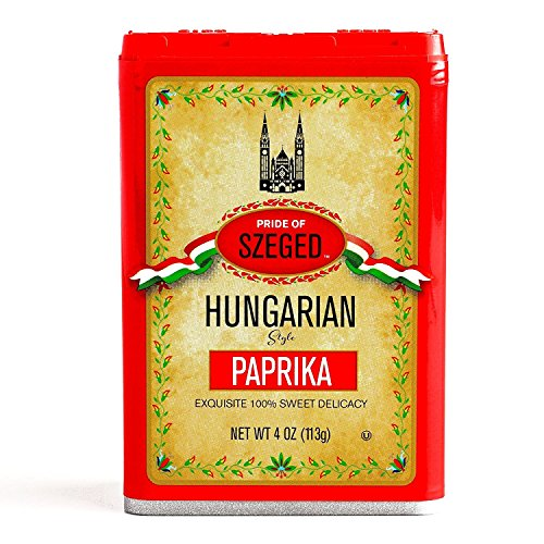 Szeged Sweet Paprika Seasoning Spice 4oz (Pack of 2)