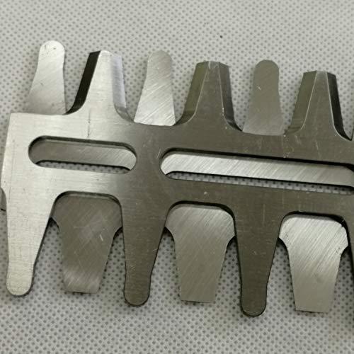 shiosheng Including a Set of 2 Blades Hedge Trimmer Blade Set 18