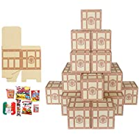 【お客様組立】お菓子の宝箱 (30個)