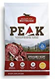 Rachael Ray Nutrish PEAK Natural Dry Dog Food, Open Range Recipe with Beef, Venison & Lamb, 23 Pounds, Grain Free