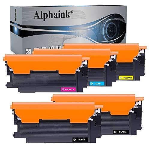 5 Toner Alphaink Compatibili SENZA CHIP con HP 117A W2070A per HP W2071A W2072A W2073A Toner per HP MFP 178nw 179fnw 150nw 150a Toner HP Color Laser 150a 150nw MFP 178nw MFP 179fnw