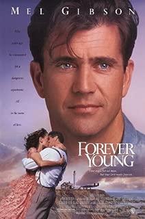 Pop Culture Graphics Forever Young Poster Movie 11x17 Mel Gibson Jamie Lee Curtis Elijah Wood Isabel Glasser