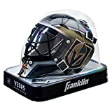 Franklin Sports NHL Vegas Golden Knights Mini Hockey Goalie Mask with Case - Collectible Goalie Mask with Official NHL Logos and Colors