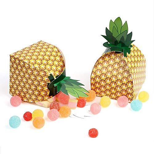 24 pcs 3D Grand Ananas Coffrets Cadeaux BBQ Summer Beach Piscine Fruit Party Décorations, Accessoires de Cuisine