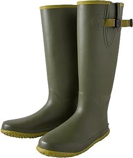 ユニワールド のらファームブーツ(男性用) オリーブ L[25.5-26.5cm] NS-604