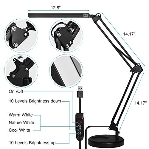 GUUKIN Lámparas de escritorio
