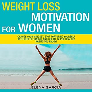 Weight Loss Motivation for Women! audiobook cover art