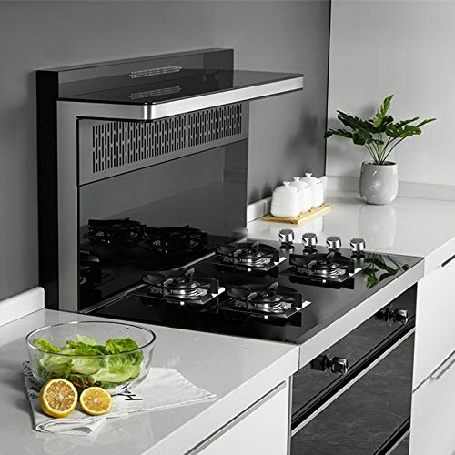 METAWELL GG403 24' 61 cm Black Tempered Glass 4 Burners Kitchen Stove Gas Hob LPG/NG Cooktops Cooker,Kitchen Gas Cooking, 24 Inch, BLACK