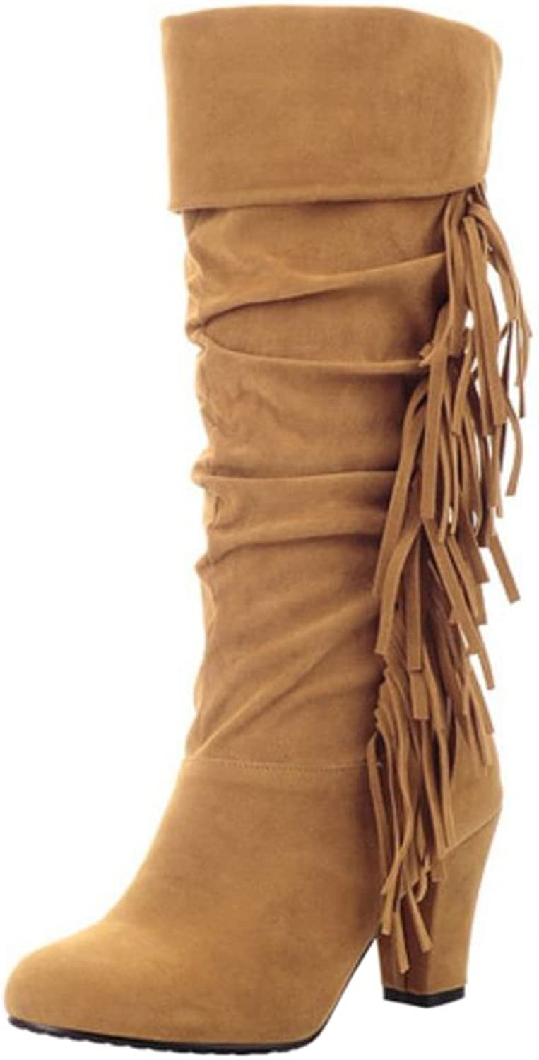 KemeKiss Women Classic Boots Pull On