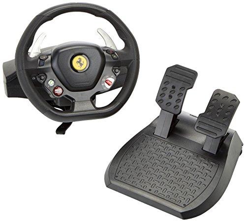 Le volant Thrustmaster Ferrari 458 Italia est le compagnon indispensable pour les courses de voiture avec votre PC/XBOX 360.