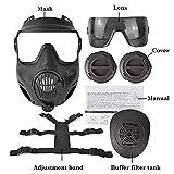 Zoom IMG-2 lsdnlx maschera protettiva tattica del