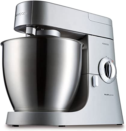KENWOOD KMM770 Premier Major, Robot de cocina, 2 velocidades, 1200 w, acero inoxidable
