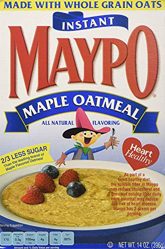 Maypo Oatmeal Inst Maple, 14 OZ Pack of 12