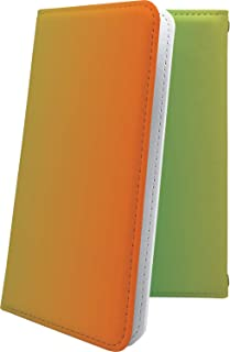 X02HT ケース 手帳型 グラデーション シンプル エックスエイチティー 手帳型ケース 無地 x01 ht カラフル