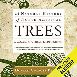 A Natural History of North American Trees audiobook cover art