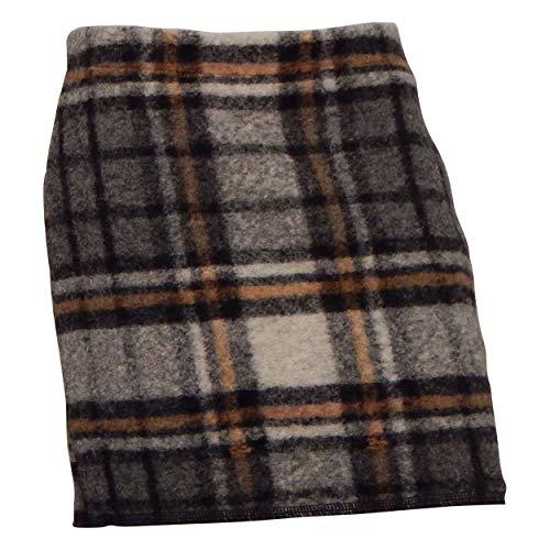 OPUS Ravenna Wool Check Slate Grey Melange - 40