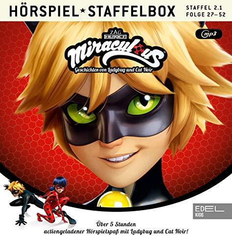 Miraculous - Geschichten von Ladybug & Cat Noir- mp3-Staffelbox 2.1 (Folgen 1 - 13) - Das Original-Hörspiel zur TV-Serie