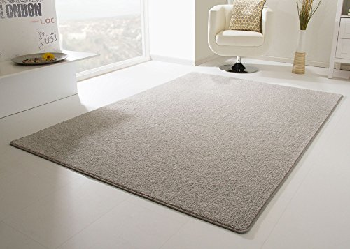 Designer Teppich Modern Cambridge in Grau, Größe: 80x150 cm