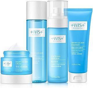 WIS Whitening Skin Care Set 4-stufig für Frauen Hautpflege Gesicht Haut Set Hautpflege Kit für Männer Hautpflege Glowing S...