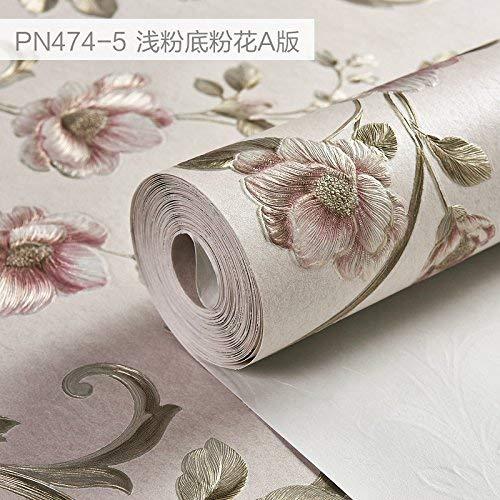 YLCJ 3D - Vorschlag Amerikanische pastorale Blume von Version Tapete Schlafzimmer Schlafzimmer TV Hintergrundbild
