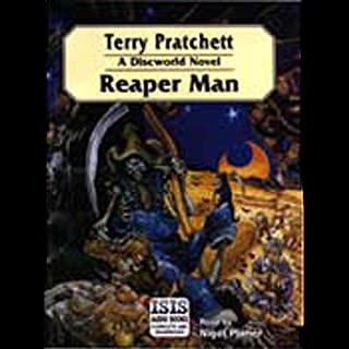 Reaper Man audiobook cover art