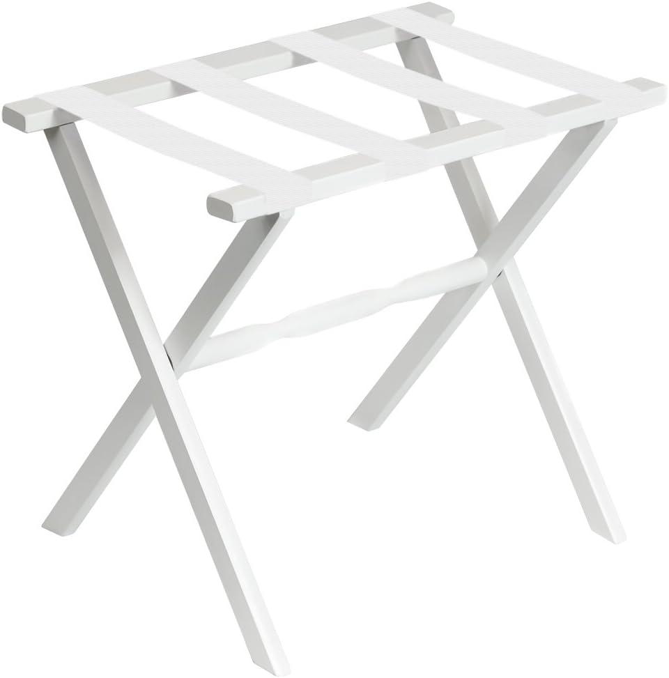 Fine Folding Furniture 1003w Luggage Year-end gift Rack Max 80% OFF