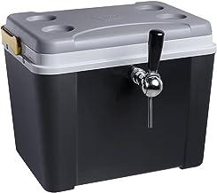 Chopeira a Gelo Lavita caixa 34l - preta com serpentina em alumínio torneira belga 1 via