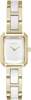 DKNY Women's NY2671 Year-Round Analog-Digital Quartz Gold Band Watch