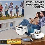 Zoom IMG-1 topvision mini proiettore con clonazione
