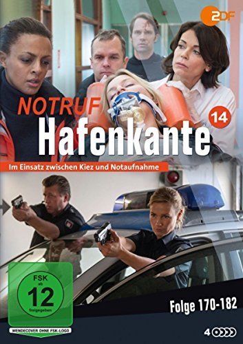 Notruf Hafenkante 14 - Folgen 170-182 [4 DVDs]