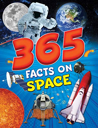 365 Facts on Space Book for Children Age 7-15 years, 80 Pages