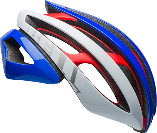 BELL Z20 MIPS Adult Road Bike Helmet - Matte/Gloss Red/White/Pacific (2018), Small (52-56 cm)