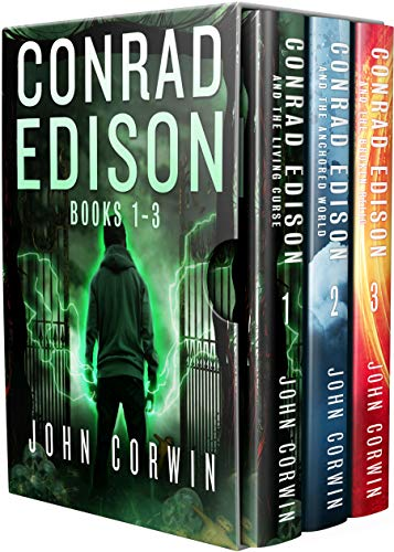 Conrad Edison Box Set: Books 1-3: Dark and Twisted Urban Fantasy Thriller (Overworld Arcanum Box Sets Book 1) (English Edition)