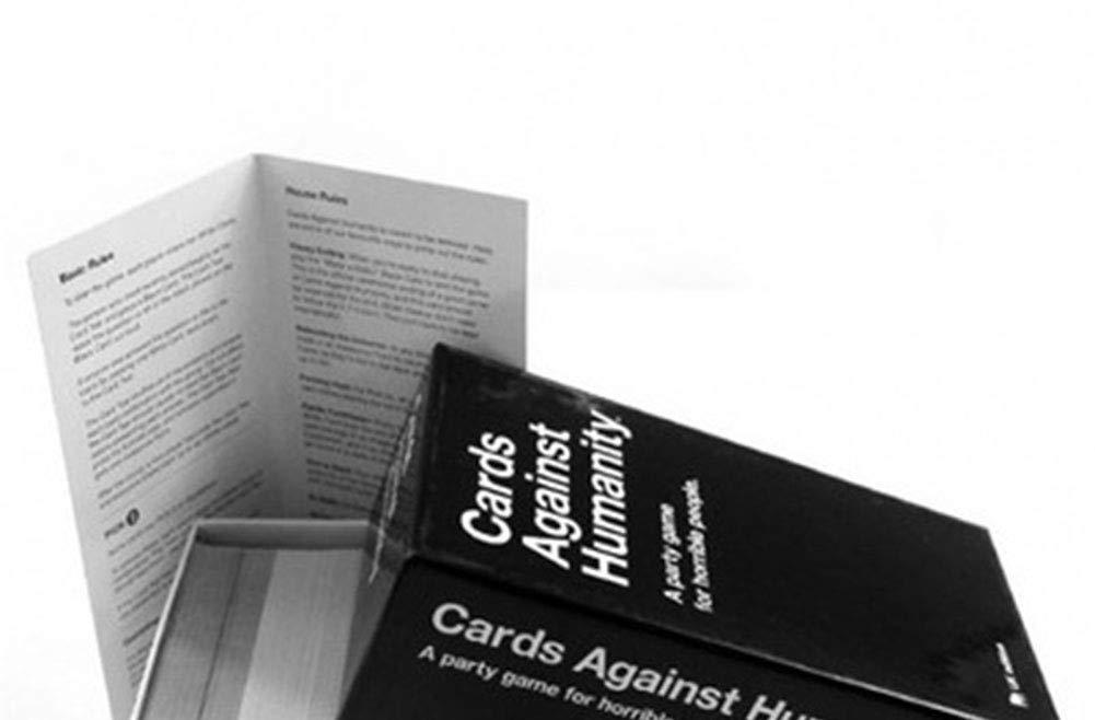 Baiye Cartas contra la Humanidad - Nuevo Juego de Mesa versión básica Paquete de ampliación 2.0 Cerebro Tarjeta antihumano Residual: Amazon.es: Hogar