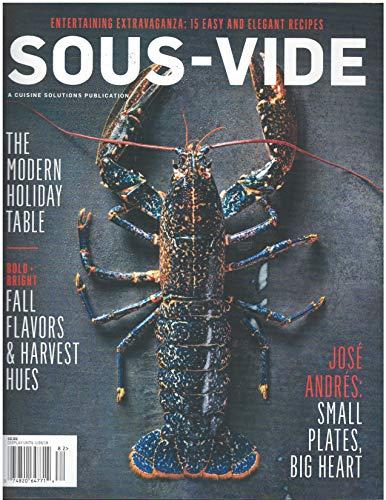 Sous- Vide Magazine Fall Winter 2018