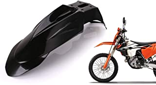 Black Forspero Guardabarros Delantero Trasero De La Motocicleta para Honda XR 250 R XR 400R//Yamaha Yz WR 250 450F//Kawasaki Kx Kl250