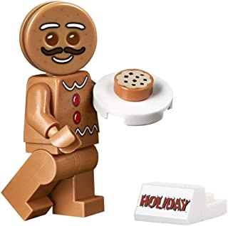 LEGO Holiday Minifigure - Gingerbread Man (with Cookie Tray and Display Stand) from New 2019 Set 10267
