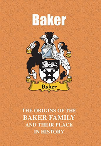 Baker (English Name Mini-Book): The origins of the family name Baker and  their place in history (English Name Mini-Books) eBook: Gray, Iain:  Amazon.in: Kindle Store