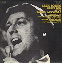 Jack Jones in Person At the Sands, Las Vegas