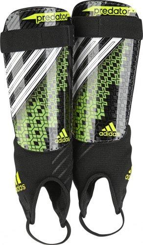 adidas Herren Schienbeinschoner Predator Replique, Black/Ray Green F13/White/Electricity, L, G73388