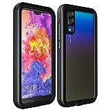 ZXCVBNM Étui De Téléphone Imperméable Apte À Fit for Huawei P40 Pro P30 P20 P20 Lite Couverture...