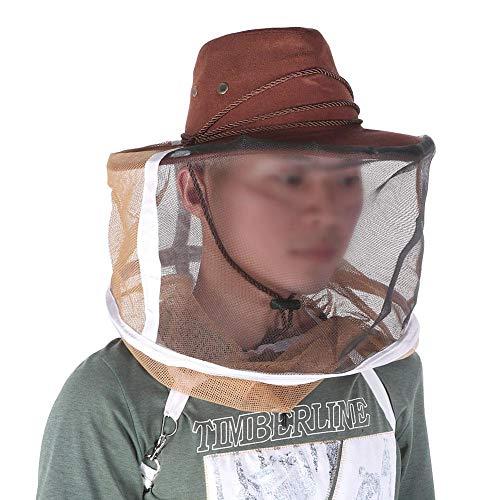 Atyhao dikke, ademende imker cowboyhoed Bee Insect net sluier, hoofdbescherming imker cap, met gezichtsbeschermingsnet