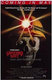 Graveyard Shift Movie Poster (27 x 40 Inches - 69cm x 102cm) (1990) -(David Andrews)(Kelly Wolf)(Stephen Macht)(Brad Dourif)