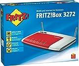 AVM Fritz!Box 3272 Modem, Router, WLAN N450, ADSL2+, 2Gigabit-LAN, 2Fast-Ethernet, Media Server, 2USB 2.0, Software in italienischer Sprache
