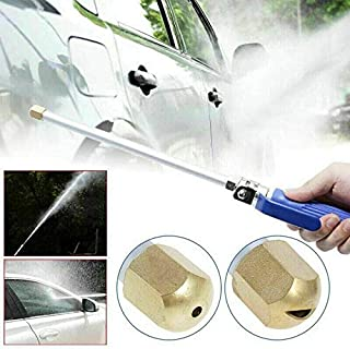 New Hydro Jet High Pressure Power Washer Water Spray Gun Nozzle Wand Cleaner OZ
