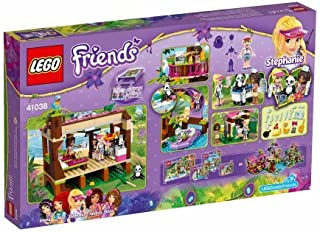 LEGO Friends Jungle Rescue Base Kids Play Building Set w/ Minifigures /- Bathroom hut features opening door, toilet, washbasin and outdoor shower