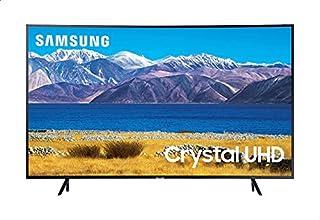 تليفزيون سمارت منحني ال اي دي 55 بوصة 4K الترا اتش دي مع ريسيفر مدمج من سامسونج، اسود - UA55TU8300UXEG