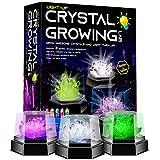 Dr. Daz Kristalle Selbst Züchten Experimentierset für Kinder Verrückte Selbst Züchten Kristall Zucht Wissenschaftliches Chemie Spielzeug Geschenk für Jungen Mädchen ab 6 7 8 9 10 Jahre