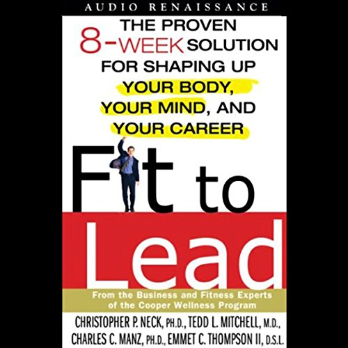 Fit to Lead audiobook cover art