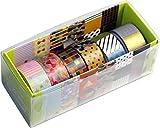 ネイルマスキングテープ 6PCS SET GREEN W01-NMT-0044 2セット(柄違い12巻)
